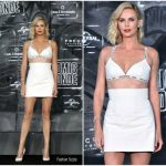 Charlize Theron In Christian Dior – 'Atomic Blonde' Berlin Premiere