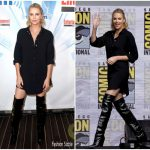 Charlize Theron In Saint Laurent  – SiriusXM From Comic-Con 2017