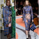 Danai Gurira In Marco de Vincenzo  At  Comic-Con 2017: Marvel Studios 'Black Panther' Presentation