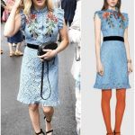 Ellie Goulding In Gucci  At Wimbledon Tennis Championships Day 8