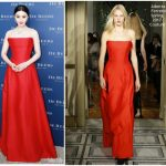 Fan Bingbing In Alberta Ferretti Couture   At  De Beers Party