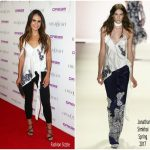 Jordana Brewster In Jonathan Simkhai – The Grand Opening Of The Highlight Room At DREAM