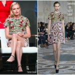 Kate Bosworth In Giambattista Valli Couture  At  2017 Summer TCA Tour