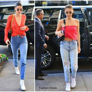 kendall-jenner-bella-hadid-in-Bec-bridge-Out-In-New-york-700×700