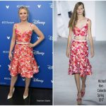 Kristen Bell In Michael Kors Collection  At  Disney's D23 EXPO 2017