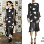Krysten Ritter  In  Prabal Gurung  -Marvel's The Defenders Comic -Con 2017 Panel