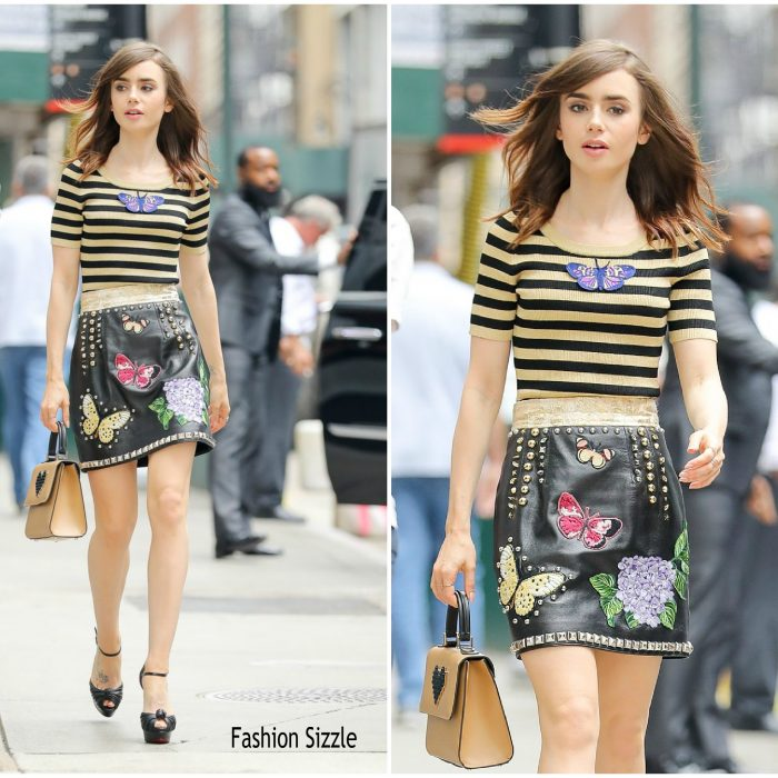 lily-collins-in-dolce-gabbana-out-in-new-york-700×700