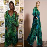 Lupita Nyong'o In Elie Saab – Comic-Con 2017: Marvel Studios 'Black Panther' Presentation