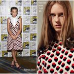 Millie Bobby Brown In Victoria Victoria Beckham & Kate Spade NY – Comic-Con 2017