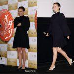 Natalie Portman In Christian Dior  At 'Planetarium' Tokyo Premiere