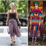 Pink In Gucci – Out In New York City