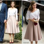 Queen Letizia of Spain In Topshop – UK State Visit