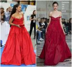 Rihanna In Giambattista Valli Couture – 'Valerian and The City of a Thousand Planets' London Premiere