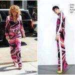 Rita Ora In  Emilio Pucci – SiriusXM