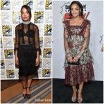 Tessa Thompson In Marc Jacobs & Rodarte  At Comic-Con  2017