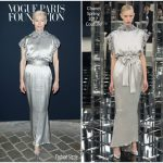 Tilda Swinton In Chanel Couture – Vogue Paris Foundation Dinner