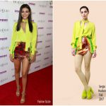 Victoria Justice In Sergio Hudson  At Grand Opening Of The Highlight Room At DREAM