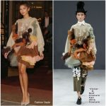 Zendaya Coleman In Viktor & Rolf Couture – Out In Paris