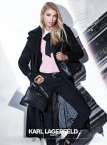 Karl Lagerfeld   Paris  launches Fall 2017 campaign featuring Stella Maxwell