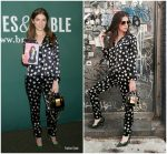 Anna Kendrick In Fleur du Mal  At 'Scrappy Little Nobody' Book Signing