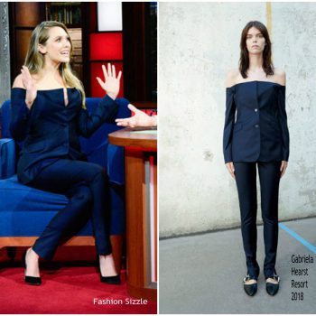 elizabeth-olsen-in-gabriela-hearst-the-late-show-with-stephen-colbert