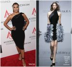 Eva Longoria In Georges Chakra Couture  At  2017 ACE Awards