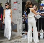 Kate Beckinsale  In Galvan   At  'Live With Kelly & Ryan'