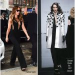 Kate Beckinsale In  Georges Chakra   – Out In New York