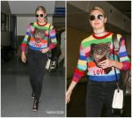 Kate Upton In Gucci  At  LAX Arrival