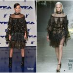 Millie Bobby Brown In Rodarte  At 2017 MTV VMAs