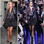 Rita Ora in Elie Saab  At Club  Delilah In LA