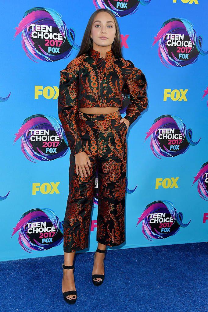 Maddie Ziegler In Zac Posen At 2017 Teen Choice Awards ...