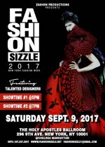 Fashion Sizzle NYFW  Fashion Show 2017