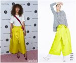 Zendaya Coleman In Adam Lippes  At 5th Annual Beautycon Festival