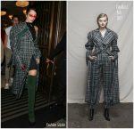 Bella Hadid In Claudia Li – Out In London