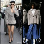 Bella Hadid In Claudia Li – Out In Paris