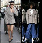 Bella Hadid In Claudia Li – Out In Paris