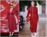 Beyonce Knowles In Valentino – Bruno Mars Concert