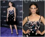 Emmy Rossum In Oscar la Renta – Paleyfest Fall Preview Presents Shameless