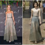 Jennifer Lawrence In Christian Dior Couture – 'Mother!' Paris Premiere