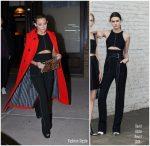 Kate Hudson In Marni, David Koma  – Out In New York City