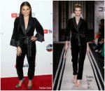 Lea Michele In Elisabetta Franchi – ABC Tuesday Night Block Party