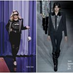 Madonna In Saint Laurent & Markus Lupfer – The Tonight Show Starring Jimmy Fallon