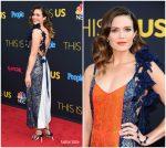 Mandy Moore In Rosie Assoulin – 'This Is Us' Season 2 Premiere