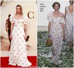 Margot Robbie In Brock Collection – 'Goodbye Christopher Robin' World Premiere