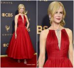 Nicole Kidman In Calvin Klein by Appointment – 2017 Emmy Awards