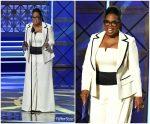 Oprah Winfrey  In Elizabeth Kennedy  – 2017 Emmy Awards