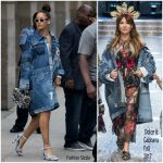 Rihanna In Dolce & Gabbana – Out In New York City