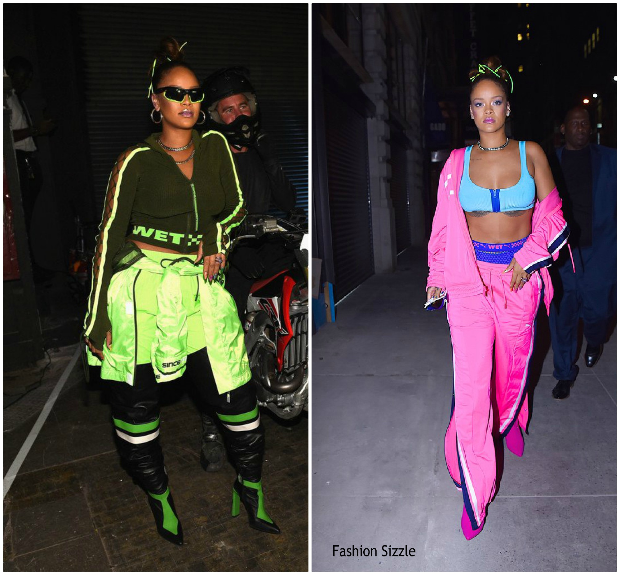 incompleto compromiso Laos  Rihanna In Fenty x Puma - Celebrate S/S 2018 New York Fashion Week Show -  Fashionsizzle