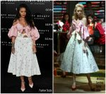 Rihanna in Marianna Senchina –   'Fenty Beauty' Madrid Launch